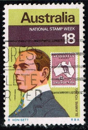 Australia #647 Blamire Young; Used (0.25) (3Stars) |AUS0647-01XBC