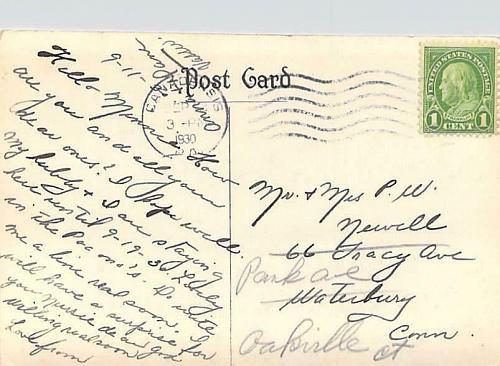 The Glenmere,Canadensis, PA Circa 1930 RPPC Vintage Postcard