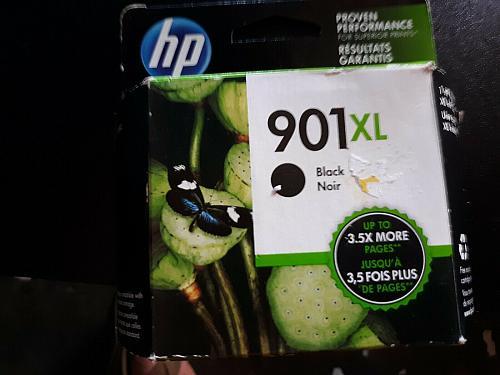 NEW HP 901XL Black Original Ink Cartridge, exp. 4/2020