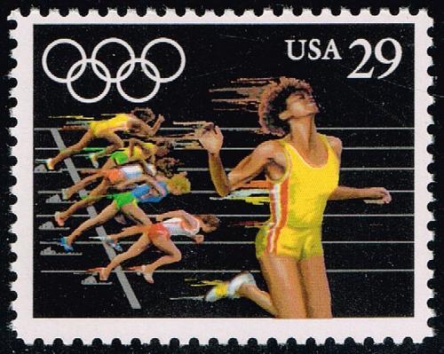 US #2555 Women's Sprint; MNH (0.60) (4Stars) |USA2555-02