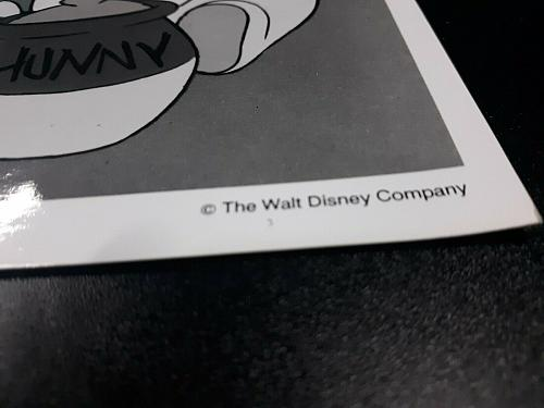 **Rare Walt Disney company photograph New Adventures of Winnie the Pooh 1980's