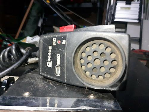 70's Vintage Royce CB Radio and Microphone - Not Tested and Model unknown