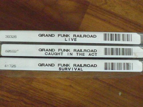 Grand Funk Railroad, Caught in the Act [US Remastered] Feb-2003, Capitol/EMI