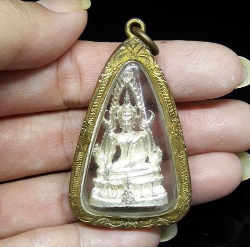Thai Amulet PHRA PHUTTHA CHINNARAT BUDDHA STATUE PENDANT THAI AMULET THAILAND