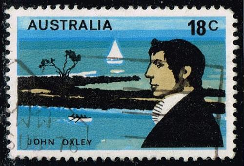 Australia #630 John Oxley; Used (0.25) (3Stars) |AUS0630-02XBC