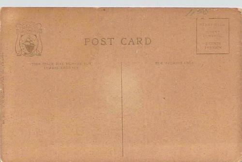 Fast Express Crossing, C.B & Q Bridge, Aurora, Ill. Vintage Postcard