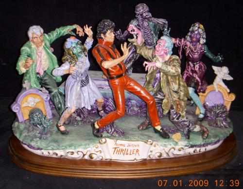Michael Jackson Thriller Capodimonte only 6 ever made