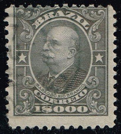 Brazil #194 Baron of Rio Branco; Used (0.80) (1Stars) |BRA0194-02XVA