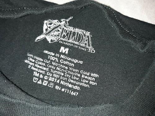 Zelda Majora's Mask 3D Messenger Bag (Club Nintendo Exclusive) **BONUS SHIRT**