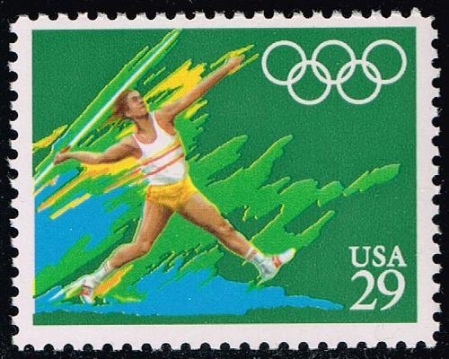 US #2556 Javelin; MNH (0.60) (4Stars)  USA2556-02