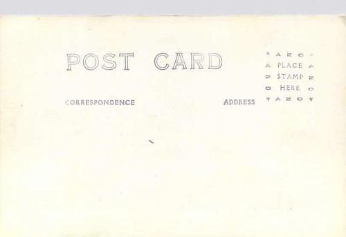 American Battleship in Heavy Seas US Navy Real Photo Postcard RPPC