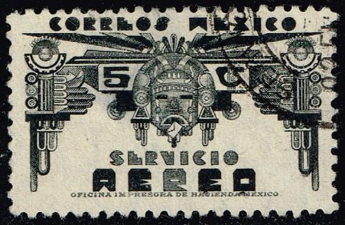 Mexico #C65 Symbols of Air Service; Used (0Stars) |MEXC065-02XRS