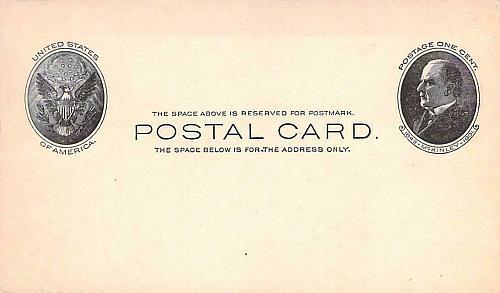 UX18,Mint US Postal Card, Advertising Corner on Reverse