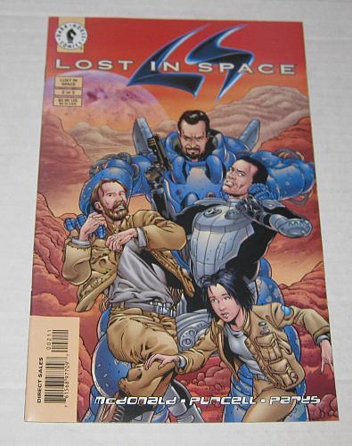 Comic Book Lost In Space #2 Dark Horse 1998