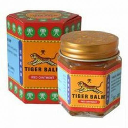 TIGER BALM WHITE & RED FOR RELIEF OF MUSCULAR PAIN HERBAL MASSAGE RUB 19.4G,30G.