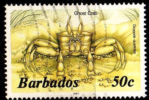 BARBADOS [1985] MiNr 0626 X II ( O/used ) Tiere 1987