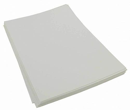 Craft Foam Sheets--12 x 18 Inches - White - 5 Sheets-2 MM Thick