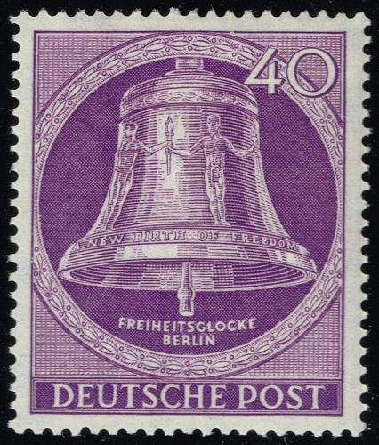 Germany #9N98 Freedom Bell; Unused (4Stars) |DEU9N098-01XRP