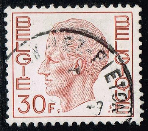 Belgium #778 King Baudouin; Used (0.25) (2Stars) |BEL0778-05XRS