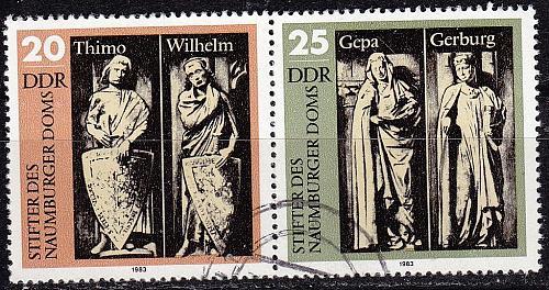 GERMANY DDR [1983] MiNr 2808 WZd568 ( OO/used )