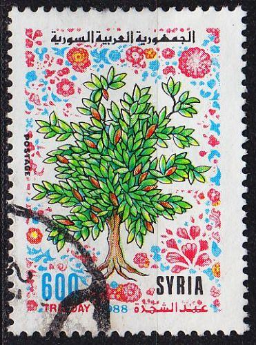 SYRIEN SYRIA [1988] MiNr 1729 ( O/used ) Pflanzen