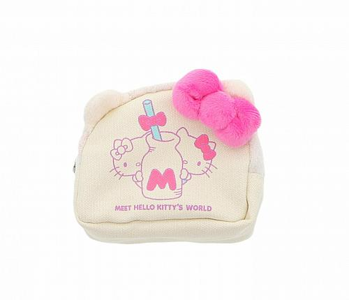 New Hello Kitty Die Cut Pouch: Meet Hello Kitty's World Free Shipping