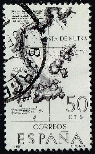 Spain **U-Pick** Stamp Stop Box #158 Item 13  USS158-13
