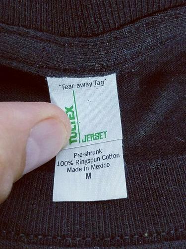 The Losers Movie Men's T-Shirt Medium Black Orange Graphic Short Sleeve