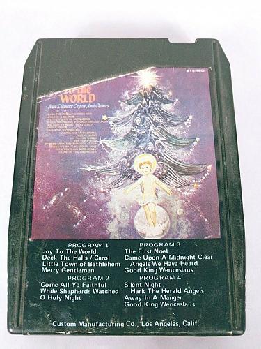 Joy To The World Ivan Ditmars Organ & Chimes (8-Track Tape, 8YS-218)