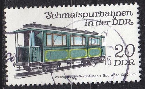 GERMANY DDR [1983] MiNr 2793 ( OO/used ) Eisenbahn