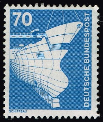 Germany #1177 Shipbuilding; Unused (2Stars) |DEU1177-01XRS