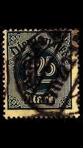 GERMANY REICH Dienst [1920] MiNr 0031 ( O/used )