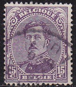 BELGIEN BELGIUM [1915] MiNr 0118 III ( O/used )