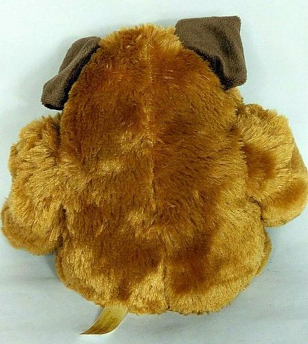 "Dan Dee Collectors Choice Bull Dog Plush Heart Tattoo Stuffed Animal 10.5"""