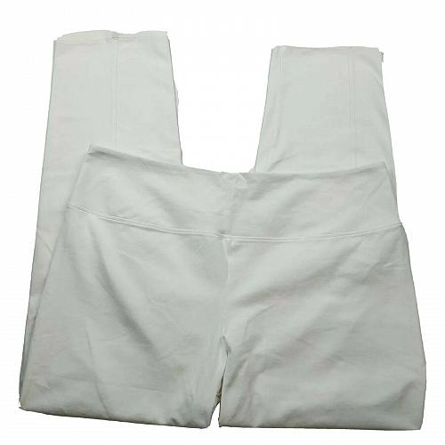 Women with Control Regular Tummy Control Tushy Lifter Slim-Leg Pants XL White