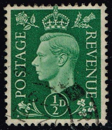 Great Britain #235 King George VI; Used (0.25) (4Stars) |GBR0235-10XRS