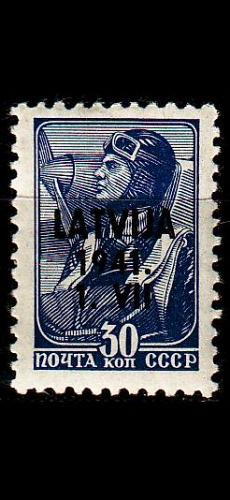 GERMANY REICH Besetzung [Lettland] MiNr 0005 ( **/mnh )