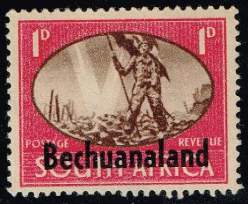 Bechuanaland Prot. #137a Peace Issue; Unused (2Stars) |BEC137a-01XRS