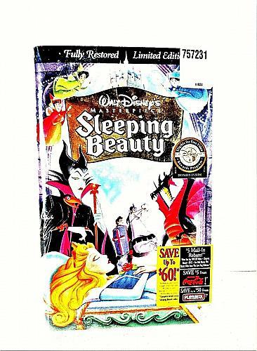 Sleeping Beauty VHS Walt Disney Masterpiece Limited Edition BRAND NEW (#vhp)
