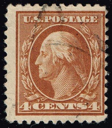 US #503 George Washington; Used (2Stars) |USA0503-04