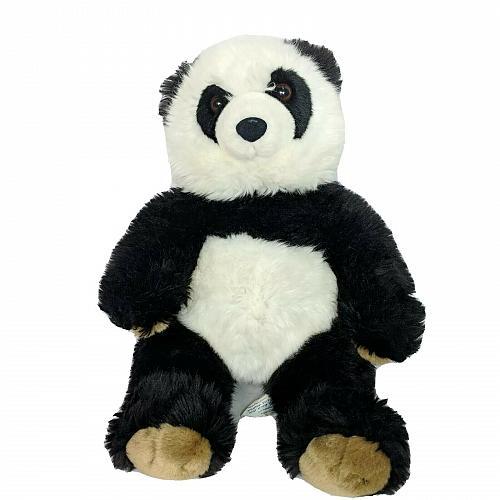 "Build A Bear Black White Panda Bear Plush BAB Stuffed Animal Retired 15"""