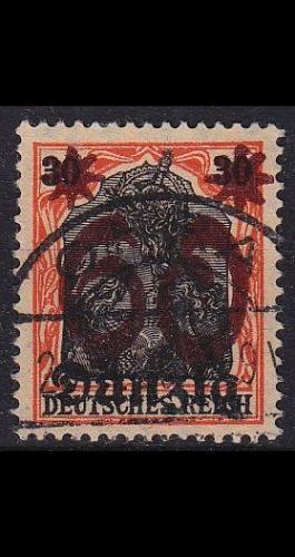 GERMANY REICH Danzig [1920] MiNr 0019 ( OO/used ) [01]