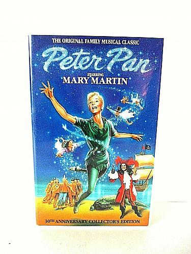 Peter Pan VHS Mary Martin Musical Classic 30th Anniversary Edition (#vhp)