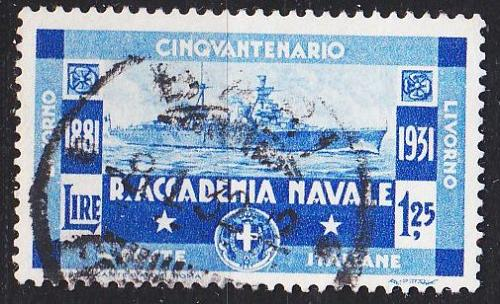 ITALIEN ITALY [1931] MiNr 0371 ( O/used ) Schiffe