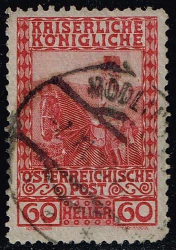 Austria #122 Franz Josef on Horseback; Used (0.25) (2Stars)  AUT0122-11XBC