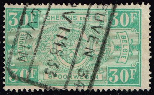 Belgium #Q170 Parcel Post & Railway; Used (0.40) (2Stars)  BELQ170-04XBC