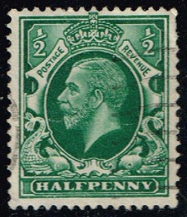 Great Britain #210 King George V; Used (0.45) (2Stars)  GBR0210-04XRS