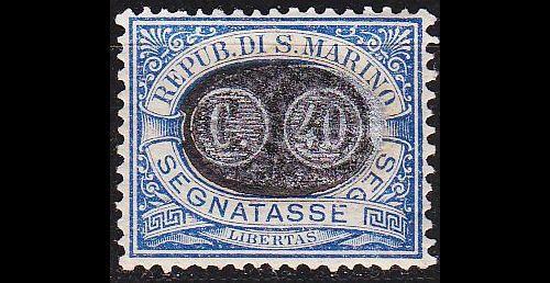 SAN MARINO [Porto] MiNr 0043 ( oG/no gum )