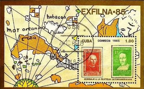 KUBA CUBA [1985] MiNr 2972 Block 92 ( O/used ) Briefmarken