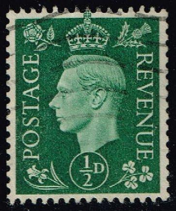 Great Britain #235 King George VI; Used (0.25) (4Stars)  GBR0235-07XRS